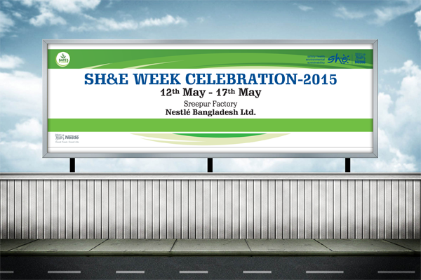 Sh&e week celebration 2015 of Nestle